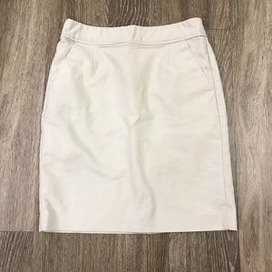 GUC! Banana Republic Khaki Pencil Skirt, Size 2